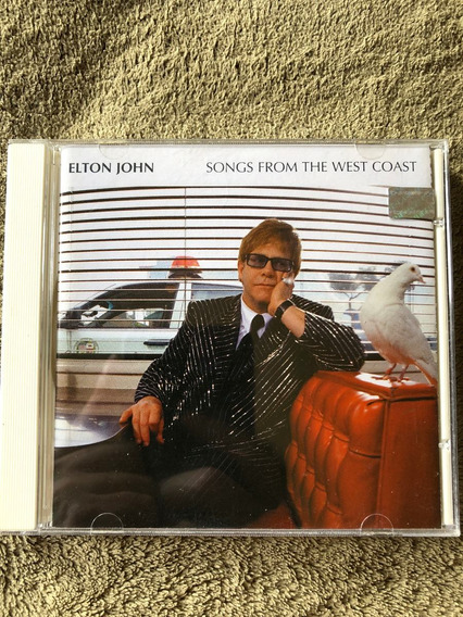 Cd Elton John Songs From The West Coast
