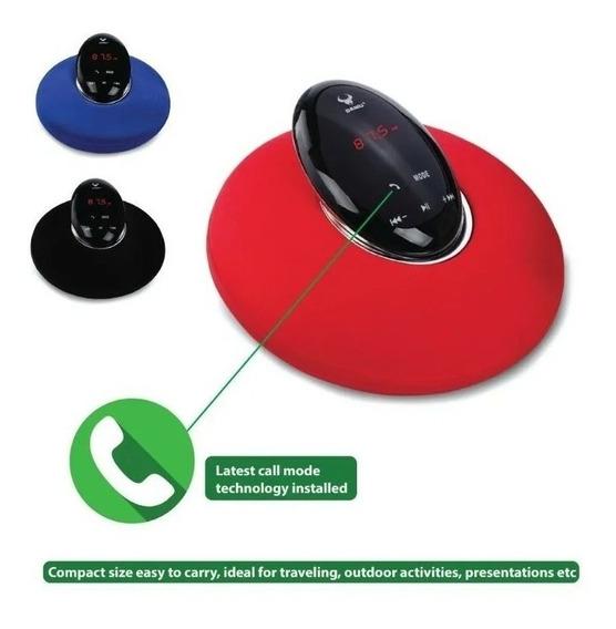 Caixa De Som - Radio Relógio Bluetooth Ds-7610