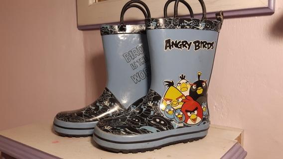 Botas De Lluvia Angry Birds