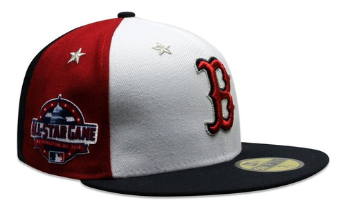 be8861dcf63750 Gorra New Era 59 Fifty Mlb Red Sox All Star Game 2018 Rojo/a ...