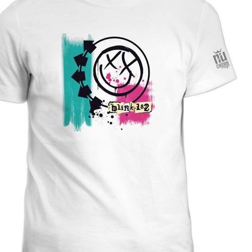 Camisetas Blink 182 Grupo Pop Rock Punk Estampada Hombre Ink