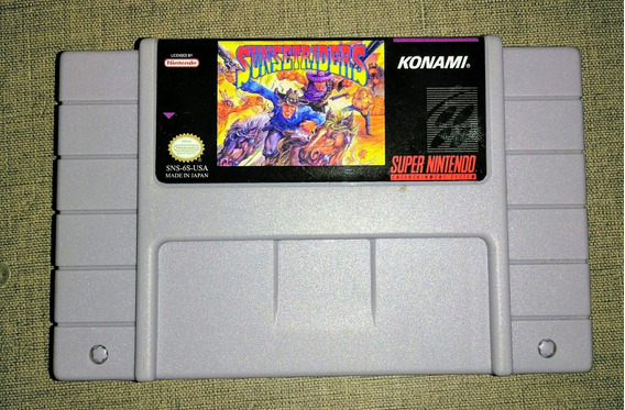 Fita De Super Nintendo Sunset Riders Paralela
