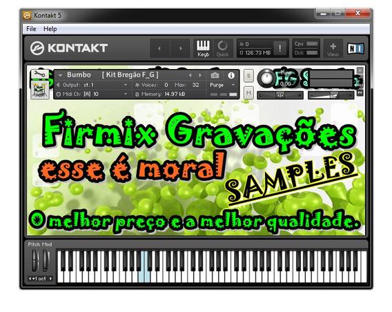 Kit Sampler Brega 2015 + Ritmo Yamaha & Korg