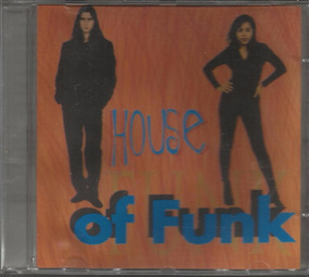 Cd Justin Grimes House Of Funk 1996 Lisette Santana Vocal