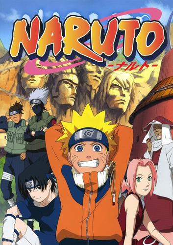 Serie Naruto Sagas Completas En Español Latino Y Japonés