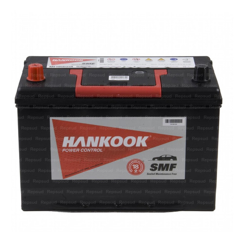 Batería Hyundai Galloper 2500cc 2000, Hankook 90ah 750a