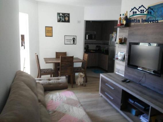 Apartamento De 69 M² Com 02 Dormitórios (sendo 01 Suíte) À Venda, Por R$ 175.000 - Afonso Pena - São José Dos Pinhais/pr - Ap1190