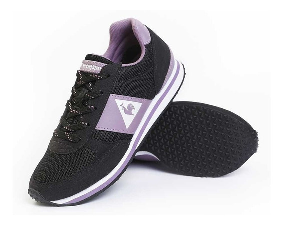 Zapatillas Le Coq Sportif Niño Kl Runner Ps Black Lilac