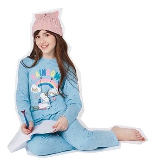 Pijama De Nena Invierno So Pink So Colorful 11497
