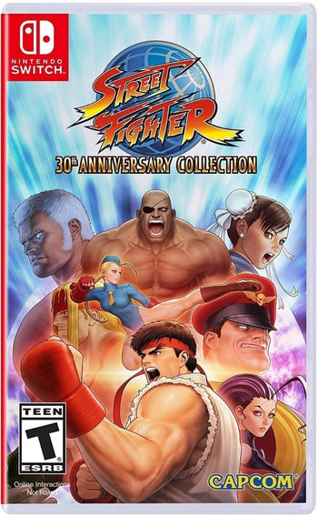 Street Fighter 30th Anniversary Collection - Mídia Física