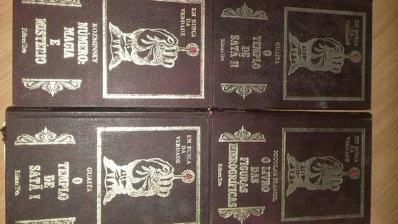 Livros Em Busca Da Verdade Guaita Vol 1- 4 O Templo De Satã