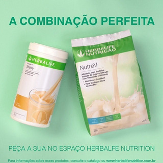 Kit Herbalife , Shake + Nutrev + Brinde Produto Original