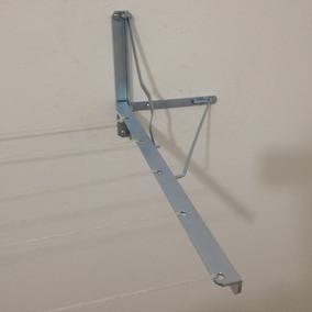 Kit 2 Pares De Varal Dobrável Articulável Parede Muro