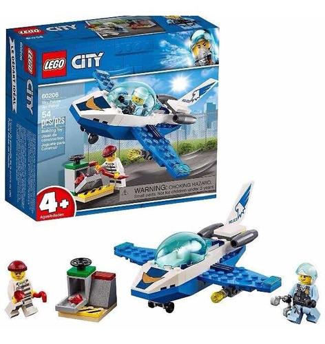 Lego City Sky Avión Policia 60206