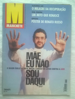 Renato Russo Legião Urbana Revista Manchete Eu Não Sou Daqui