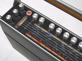 Rádio Portátil Alemão Telefunken - Vintage 1970 - Art Deco