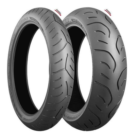 Pneu Bridgestone T30 120/70 R17 + Bridgestone T30 160/60 R17