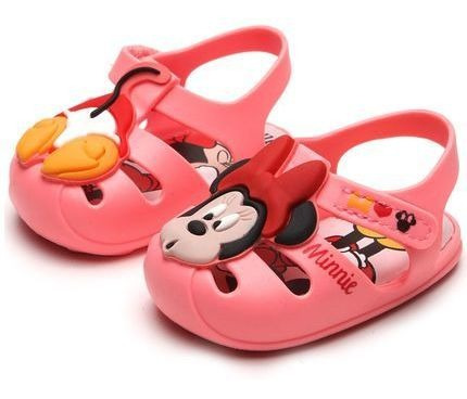 Sandália Baby Feminina Disney Sweet Drean Grendene Kids-rosa