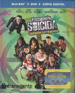 Escuadron Suicida - Margot Robbie (blu-ray + Dvd + Digital)