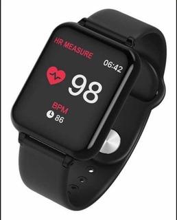 Relógio Smart Watch Inteligente B57 Pressão E Batimentos
