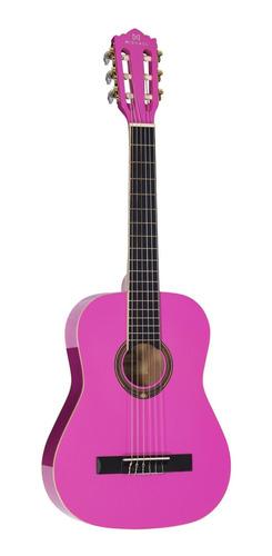 Violao Michael Infantil Vm11e Pk Pink