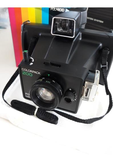 Camera Polaroid Colorpack 200 Land Com Filme