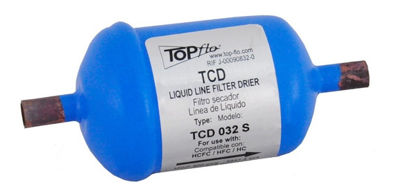 Filtro Secador Topflo Tcd-032 Líquidos Hasta 23 Ton
