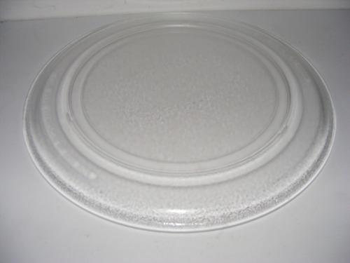 Imagen 1 de 4 de Plato Para Microondas De 36 Cm Diámetro/ Base Plana