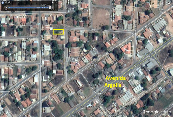 Lote 438,00m² (asfalto E Agua) Parque Das Nações