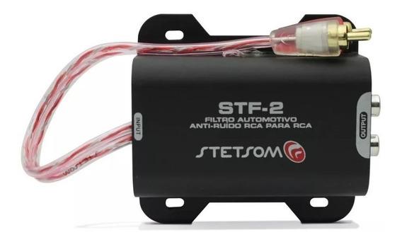 Filtro Supressor Anti Ruido Rca Stf2 Som Automotivo Stetsom