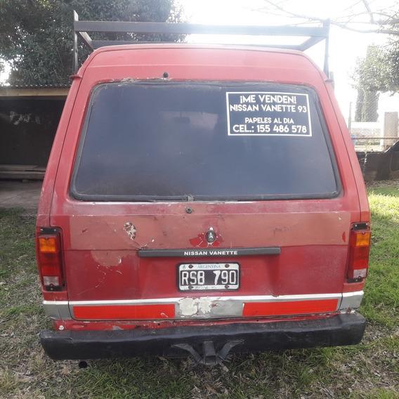 Camioneta Nissan Vanette Furgon 93
