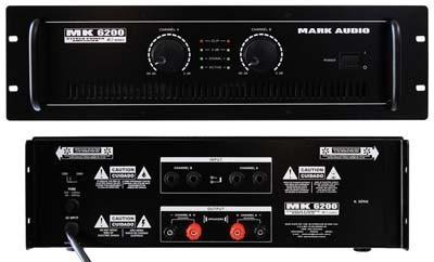 Amplificador Mark Audio Mk6200 1200w