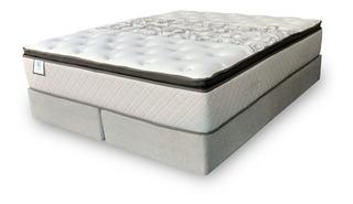 Sommier Sealy Tilbury 2 1/2 plazas 190x140cm blanco