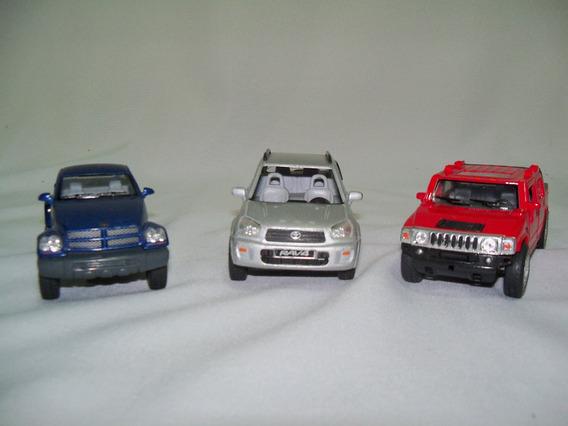 Miniaturas Hummer Honda Rav4 E Pickup Dodge Leia O Anúncio