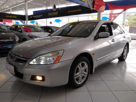 Honda Accord Lx Aut. Ñ Civic 2007 Novo Troco Financio S/ Ent
