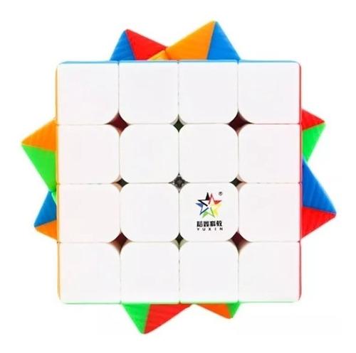 Imagem 1 de 4 de Cubo Mágico 4x4x4 Yuxin Little Magic Magnético Profissional