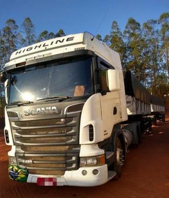 Scania Highline R-480 6x4 Rodocaçamba Dolly Aceito Parcelado