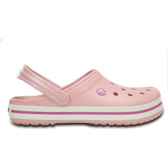 Crocs Crocband Originales- Pearl Pink/wild Orchid