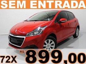 Peugeot 208 1.2 Active 12v Flex 4p Manual Sem Entrada