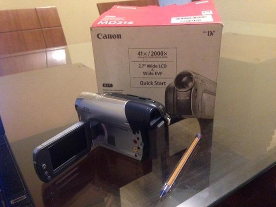 Filmadora Canon Md215