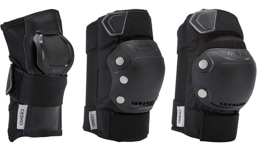 Imagen 1 de 7 de Set De 3 Protecciones Para Andar En Patines/bicicletas