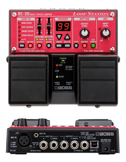 Rc30 Efecto Pedal Loop Station Boss