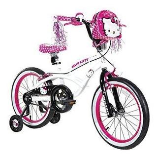 Hello Kitty Dynacraft Girls Bmx Street Bike 18, Whiteblackpi
