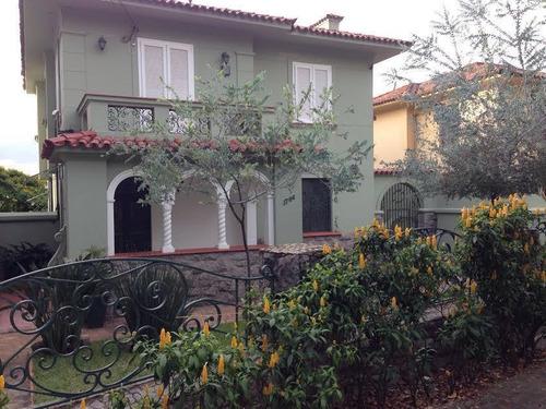 Sobrado Com 4 Dormitórios Para Alugar, 450 M² Por R$ 12.000,00/mês - Pacaembu - São Paulo/sp - So0285