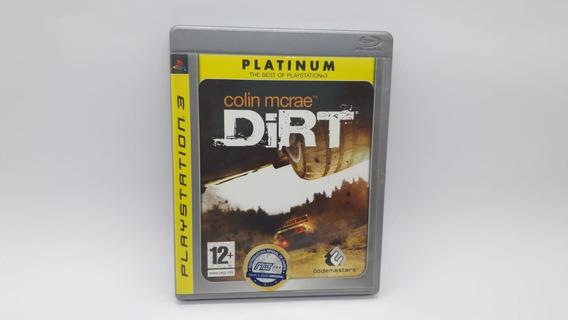Dirt Colin Mcrae - Ps3 - Edição Platinum - Cd Original