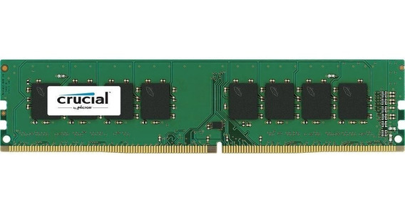 Memoria Ddr4 4gb 2400 Mhz Crucial Value Overdrive 12c