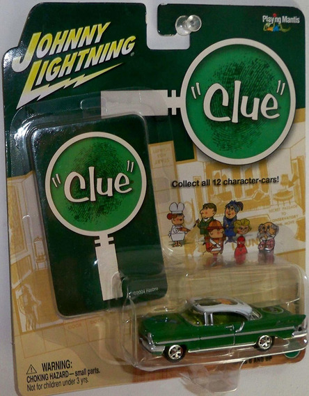 Auto Johnny Lightning 1957 Lincoln Premiere Clue Rdf1