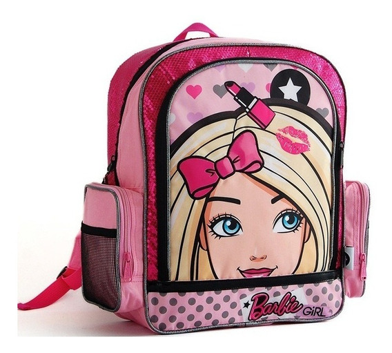 Mochila Barbie Espalda 14 Pulgadas