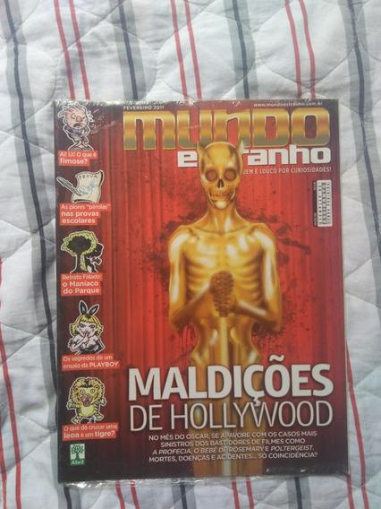 Revista Mundo Estranho Ed 108 Maldições De Holywood
