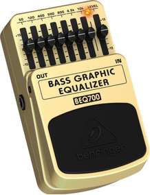 Pedal Equalizador De Baixo Beq700